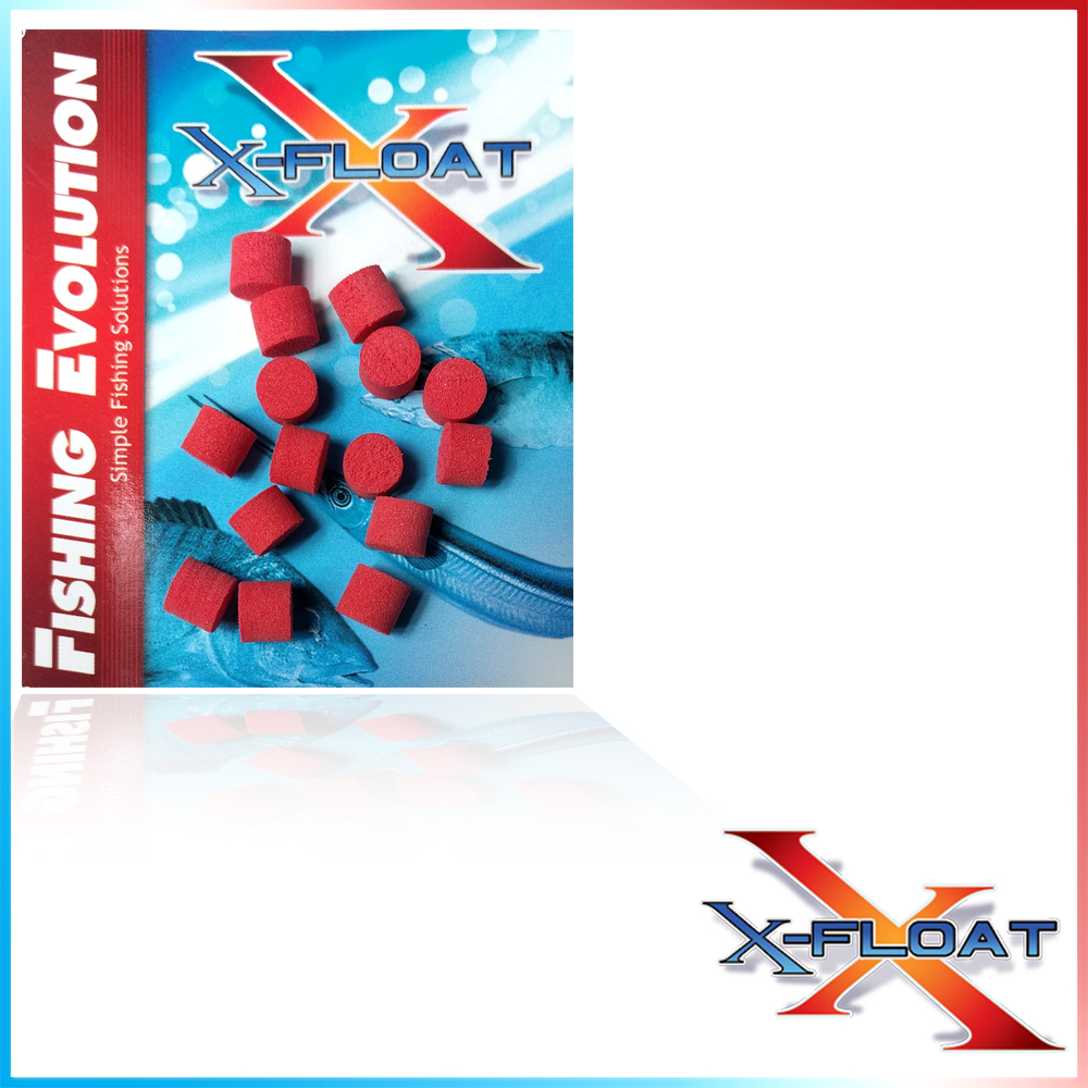 X-Float Mini Pop diam.6 mm5 Red