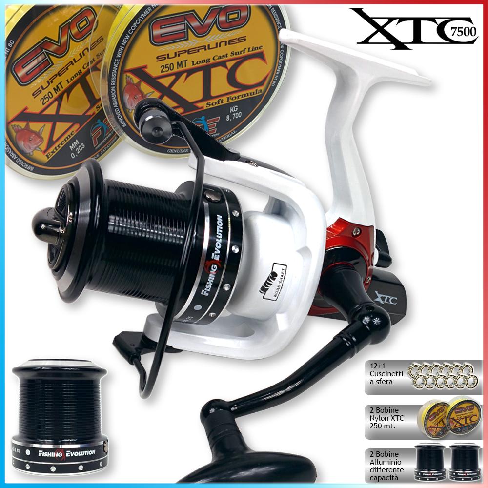 XTC 7500 +2 bob. filo FE 250mt OMAGGIO