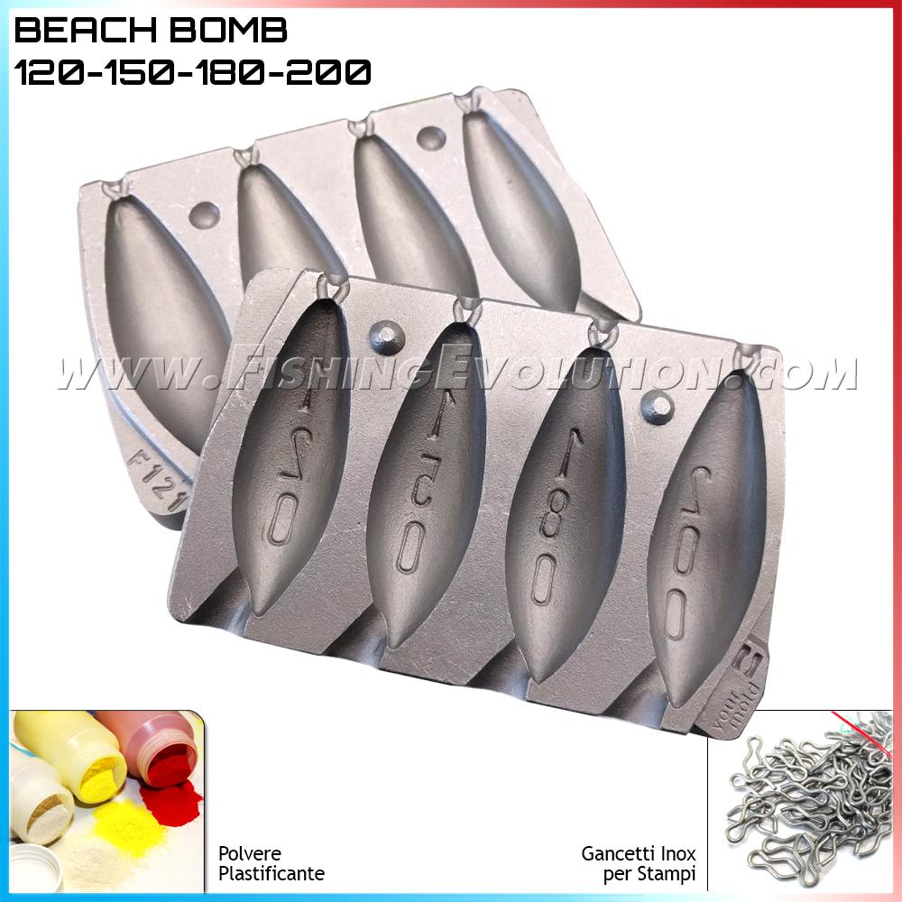 Stampo Piombo Beach Bomb 120-150-180-200