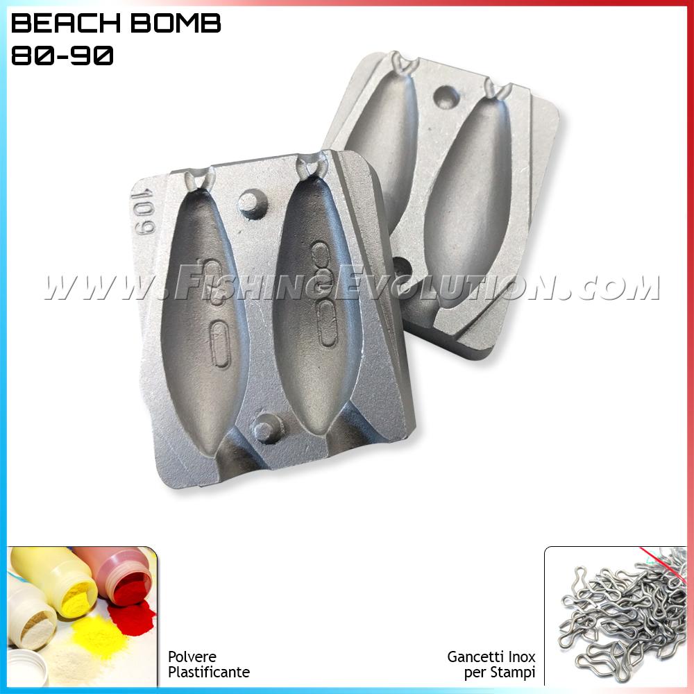 Stampo Piombo Beach Bomb 80-90