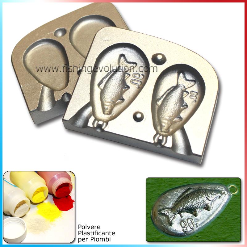 Stampo Piombo Carpa 60-90