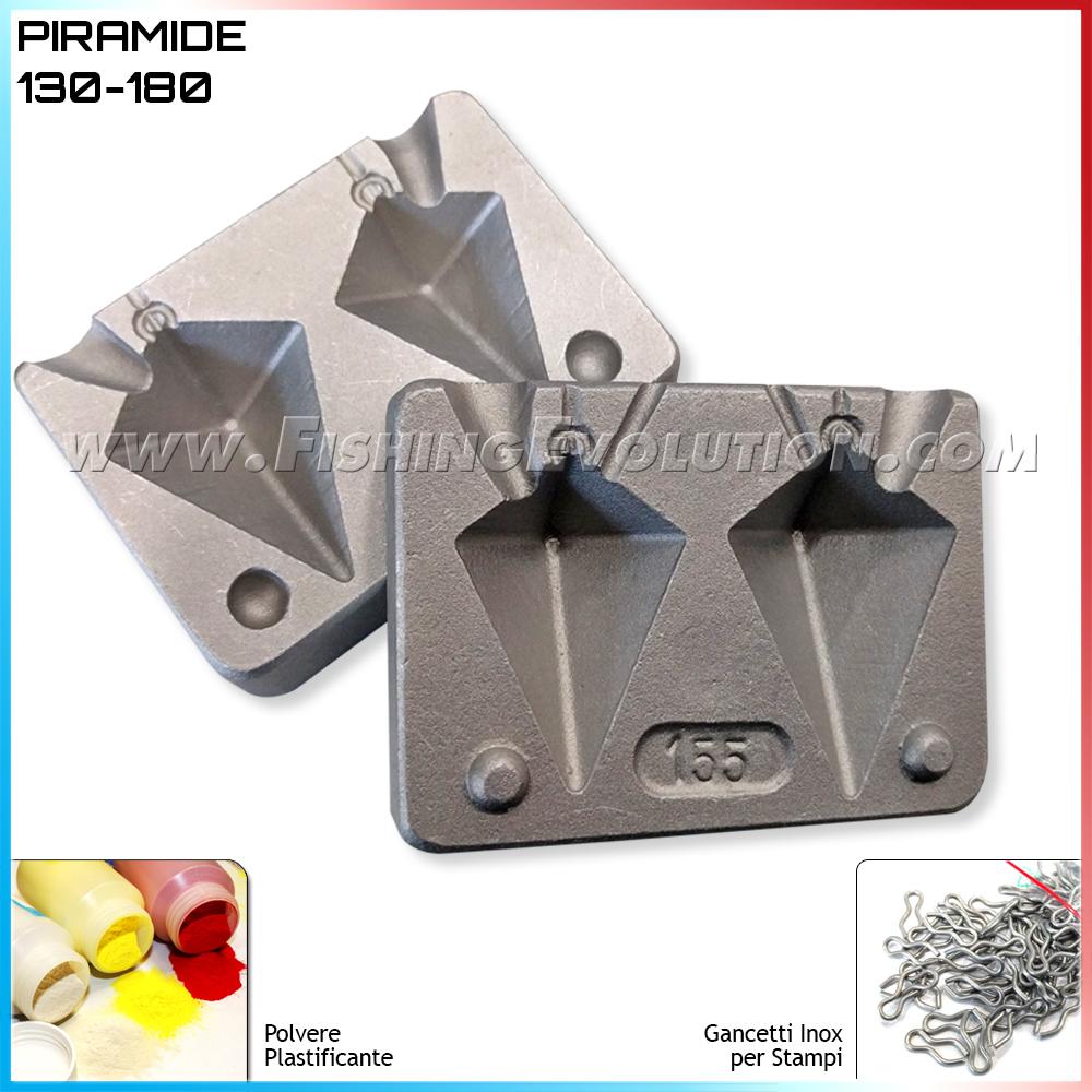 Stampo Piombo IdroPiramide 130-180gr (F154)