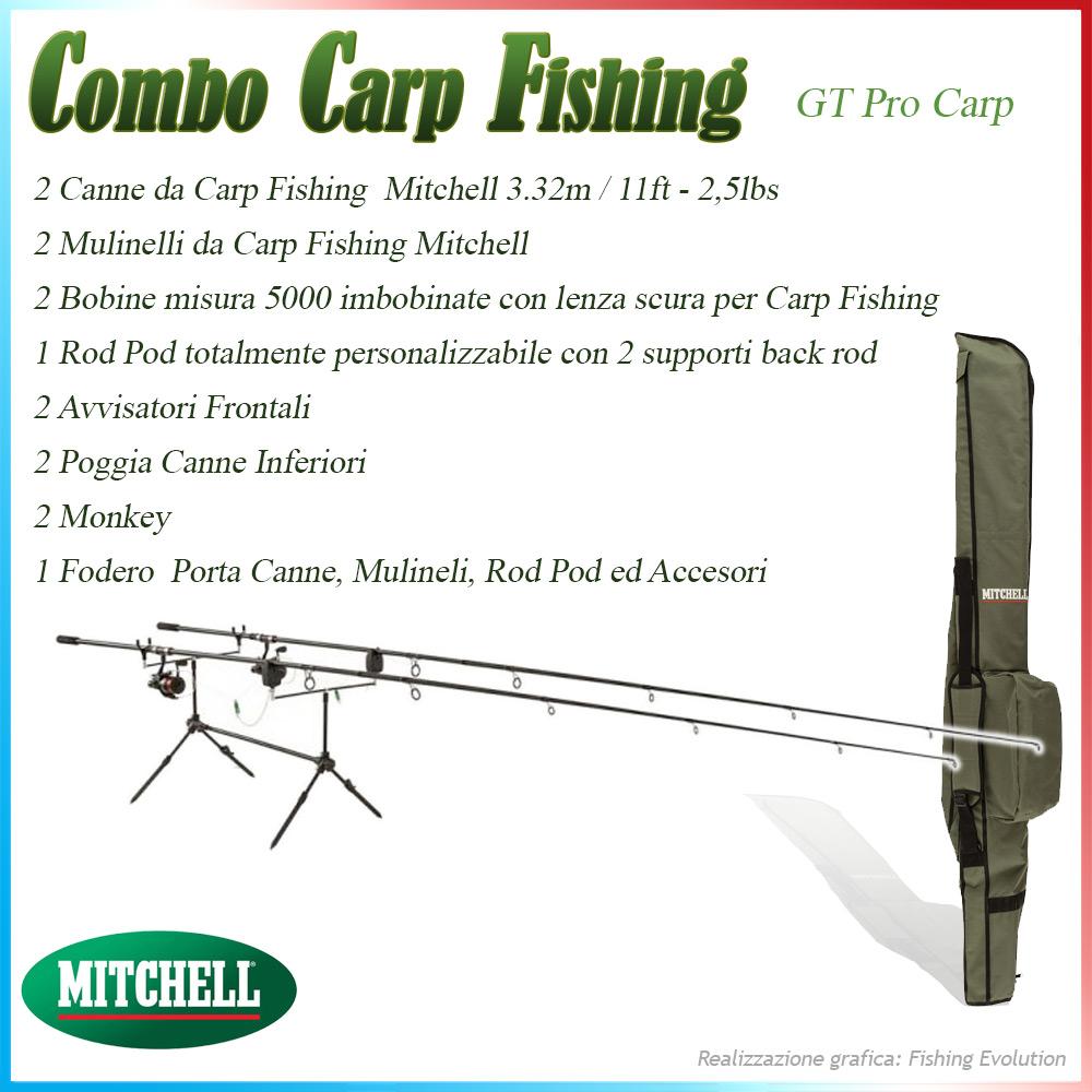 Combo Carp Fishing GT Pro Carp