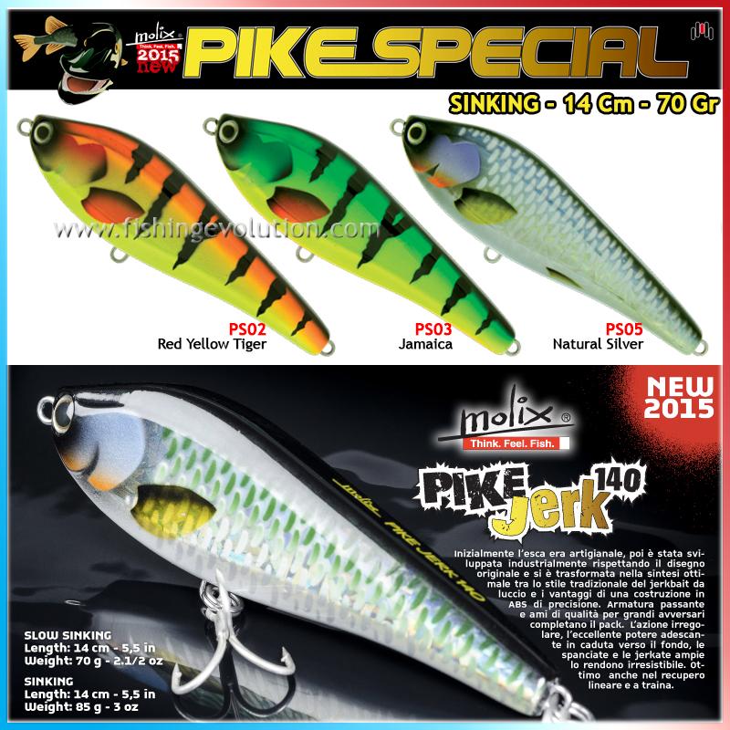 Pike Jerk 140 Sinking