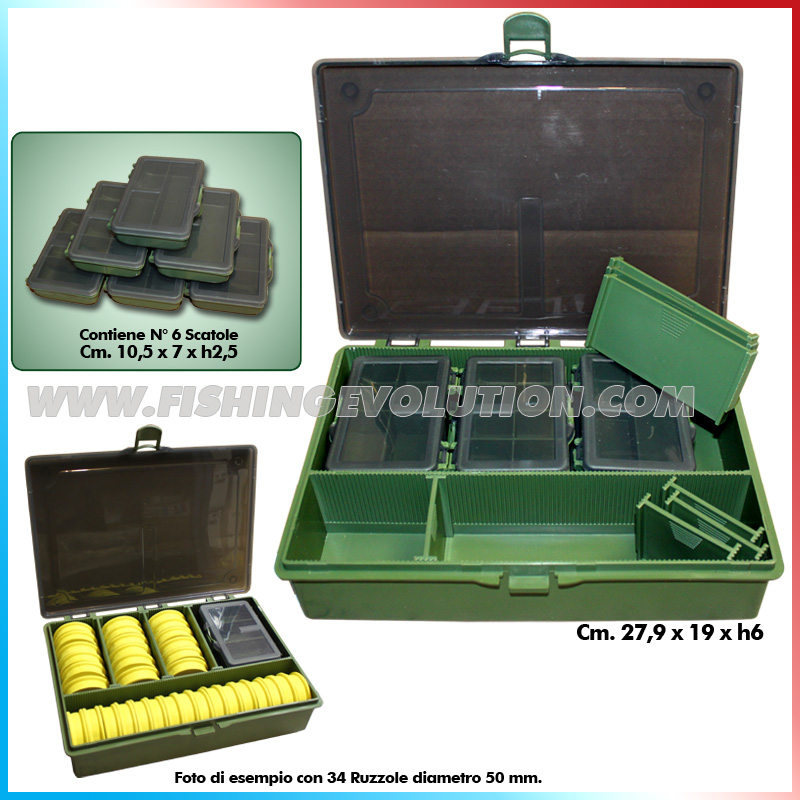 Scatola + 6 scatole