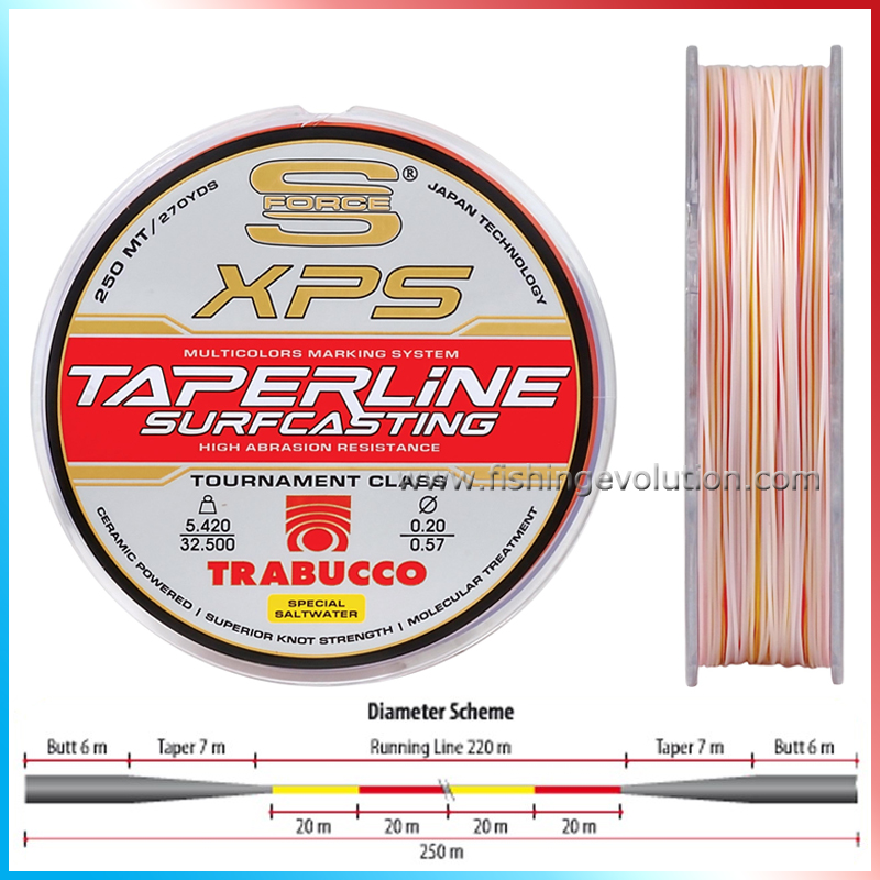 TaperLine 250 mt. Multicolor