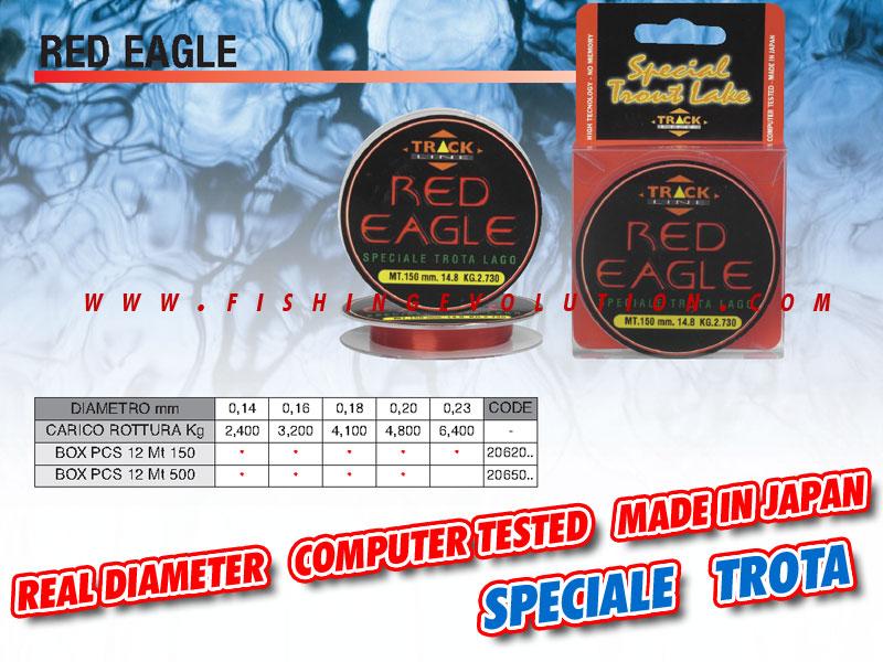 Red Eagle Nylon 150mt.
