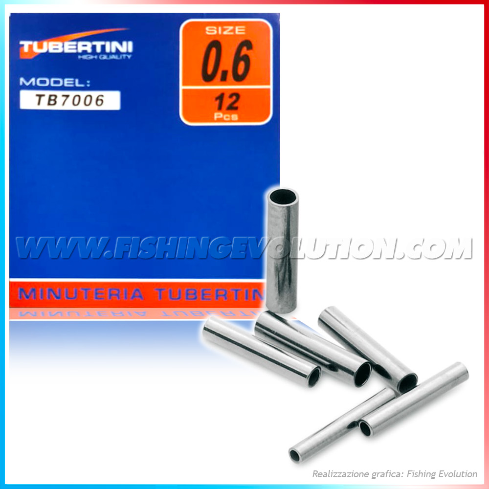 Crimp Sleeve Tubetto 12 pz.