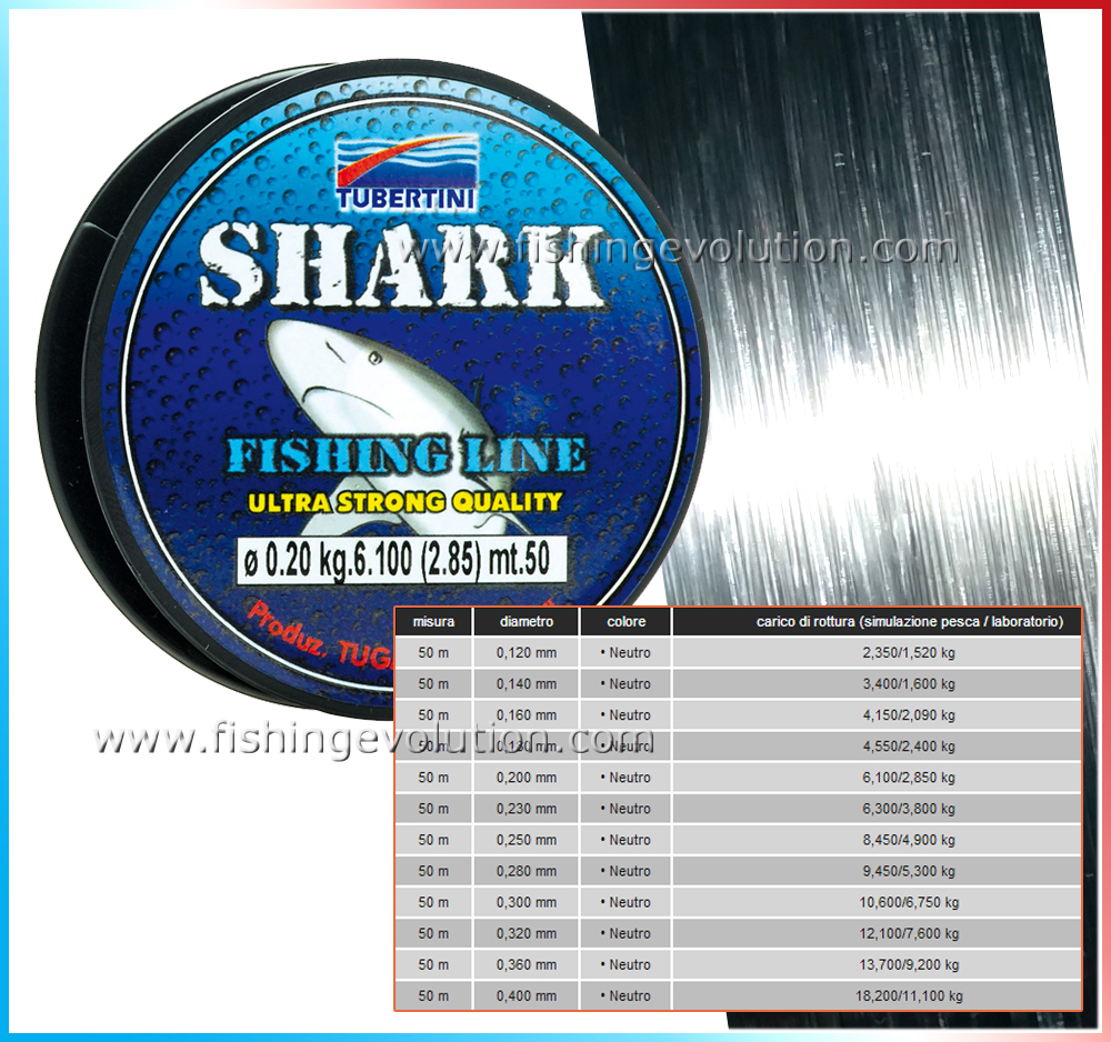 Nylon Shark 50 Mt