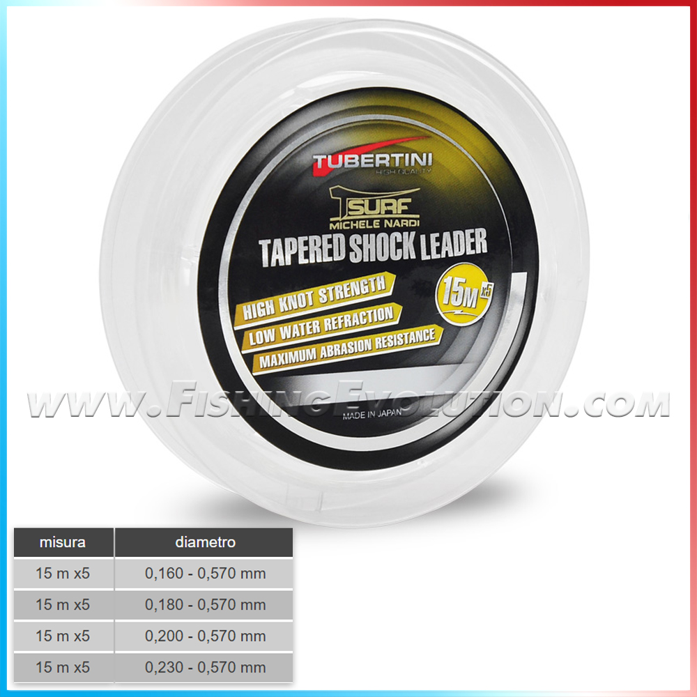 T-Surf Tapered Shock Leader