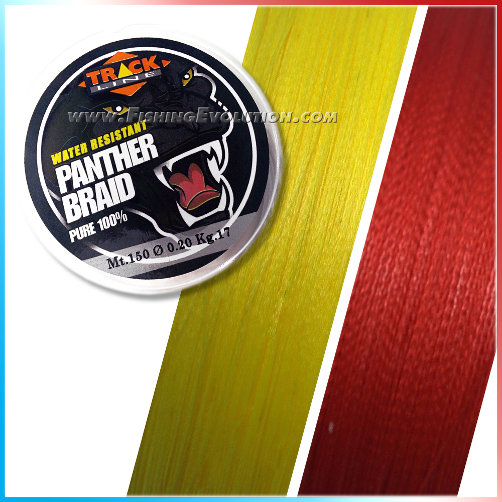 Panther Braid Yellow 300 mt.