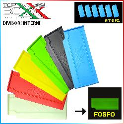 Kit 6 Divisori Interni Top Boxxx Evo [2.18]