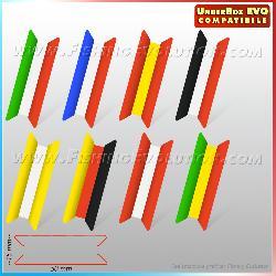 Ruzzole 50x15 Tricolore conf. 7Pz