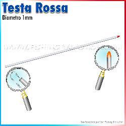 Art.454 - 455 - 460 Aghi Testa Rossa (5 pz)