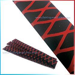 Termorestringente X-Cross Bicolore Nero-Rosso