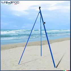 Picchetto con gambe Alluminio Anodizzato Blu 200 cm