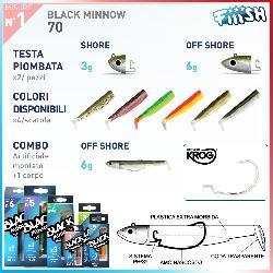Black Minnow 70mm