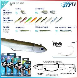 Black Minnow 90mm