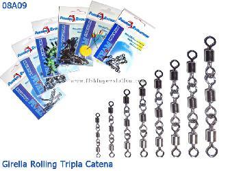 Girella Tripla Rolling Catenella (08A09)