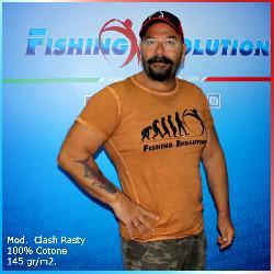 T-Shirt Evolution Clash Rasty
