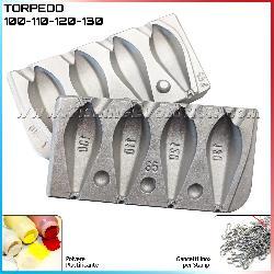 Stampo Piombo Torpedo 100-110-120-130