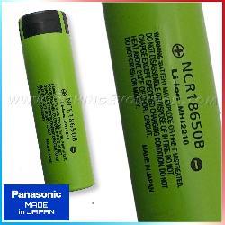 Batteria Panasonic 18650 3,7V