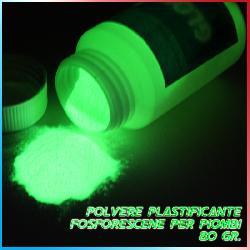 Polvere Plastificante Fosforescente 80gr