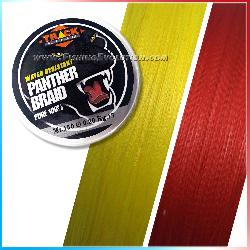 Panther Braid Red 150 mt.