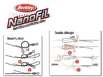 Nanofil Uni-filament fishing line