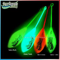 Turkana piombi Beach bomb long tail green fosfo
