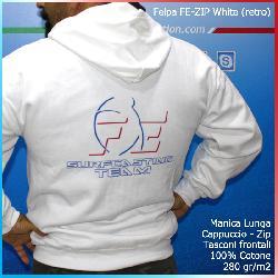 Felpa FE-Zip White