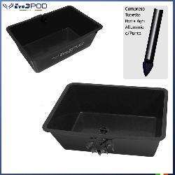 Big Basket Black+ Porta Aghi Black