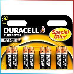 Duracell AA 8 pz