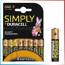 Duracell AAA 8 pz