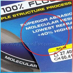 XPS Ultra FC 403 Saltwater Fluorocarbon 100%