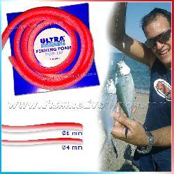 Fishing Foam Pop Up Bianco-Rosso