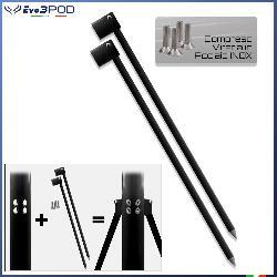 Gambe per Picchetto 150 cm Elite Black