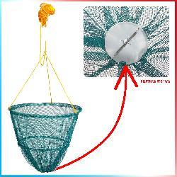 Gamberiera rete per granchi e gamberi
