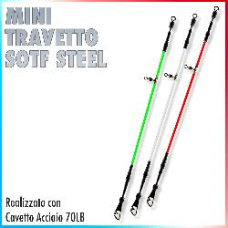 Mini Travetto Soft Steel 70Lb (3pz Tricolore)