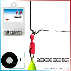 Fishing evolution Perline tenbin inox diam 4 foro 1 5