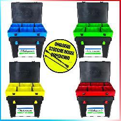 Combo Seat Box Shakespeare Black + Top Boxxx Evo + Stecche
