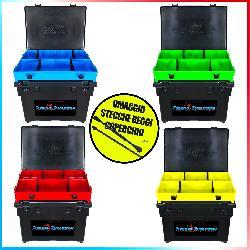 Combo Seat Box Black + Top Boxxx Evo + Stecche