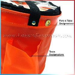 Secchio x Acqua Richiudibile con Tappo Zip 30x30cm