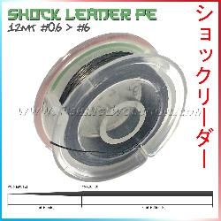 Fishing evolution Shock leader conico pe 0 6-6