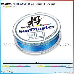 Varivas Surfmaster x4 braid pe