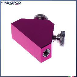 Triangolo porta accessori Alluminio Anodizzato Rosa