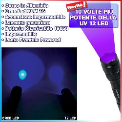 Torcia UV Cree Led