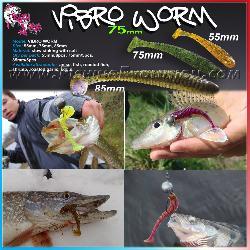 Vibro Worm 7.5cm