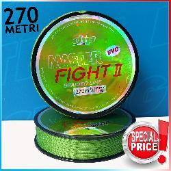 Trecciato Master Fight II Verde Fluo 270mt