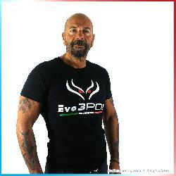 T-Shirt Evo3POD Nera Manica Corta